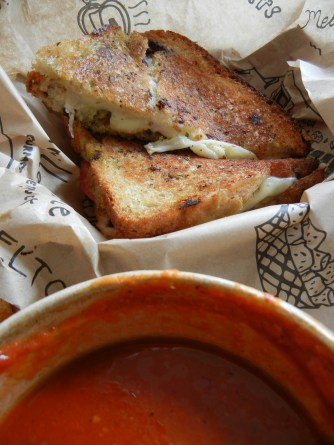 The Grilled Cheeserie: G.D.G Caprese Melt | Christina's Best Life