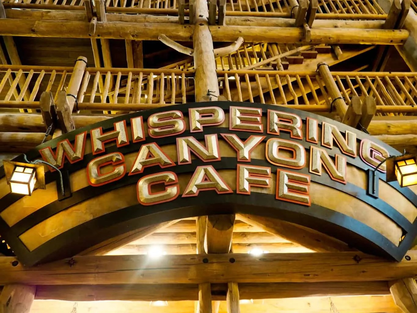 Whispering Canyon Cafe at Fort Wilderness Lodge: Restaurant Review