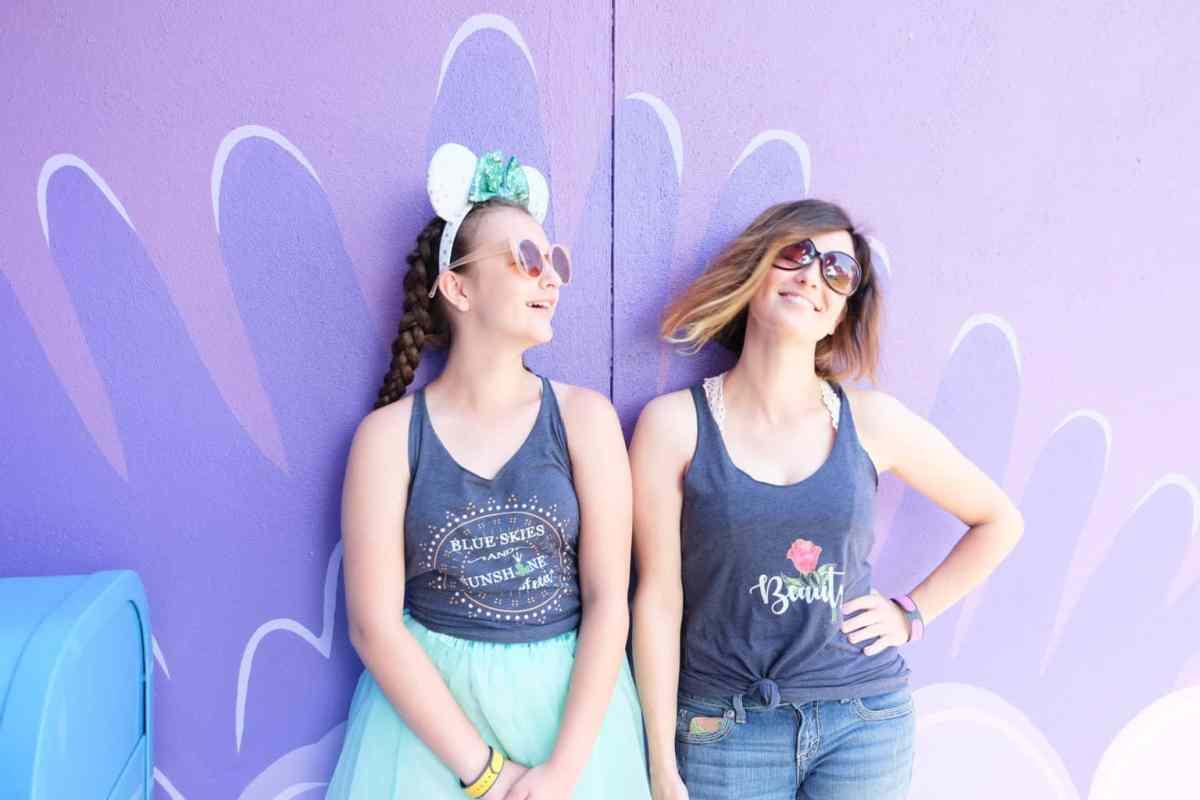 Cotton Candy Wall Walt Disney World