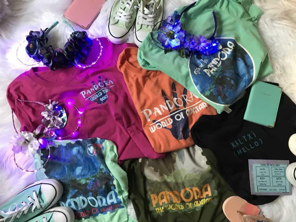 Disney Pandora T Shirt Collection