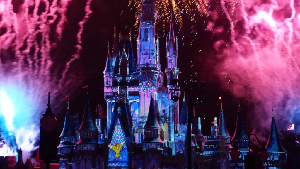 Happily Ever After Fireworks new Animation Hunchback of Notre Dame