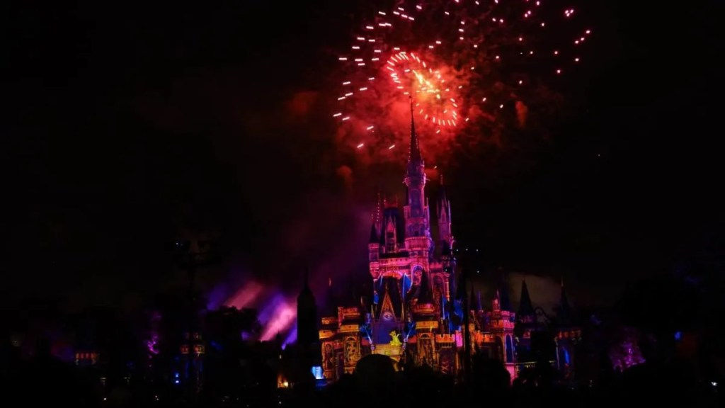 Disney Fireworks Show Happily Ever After