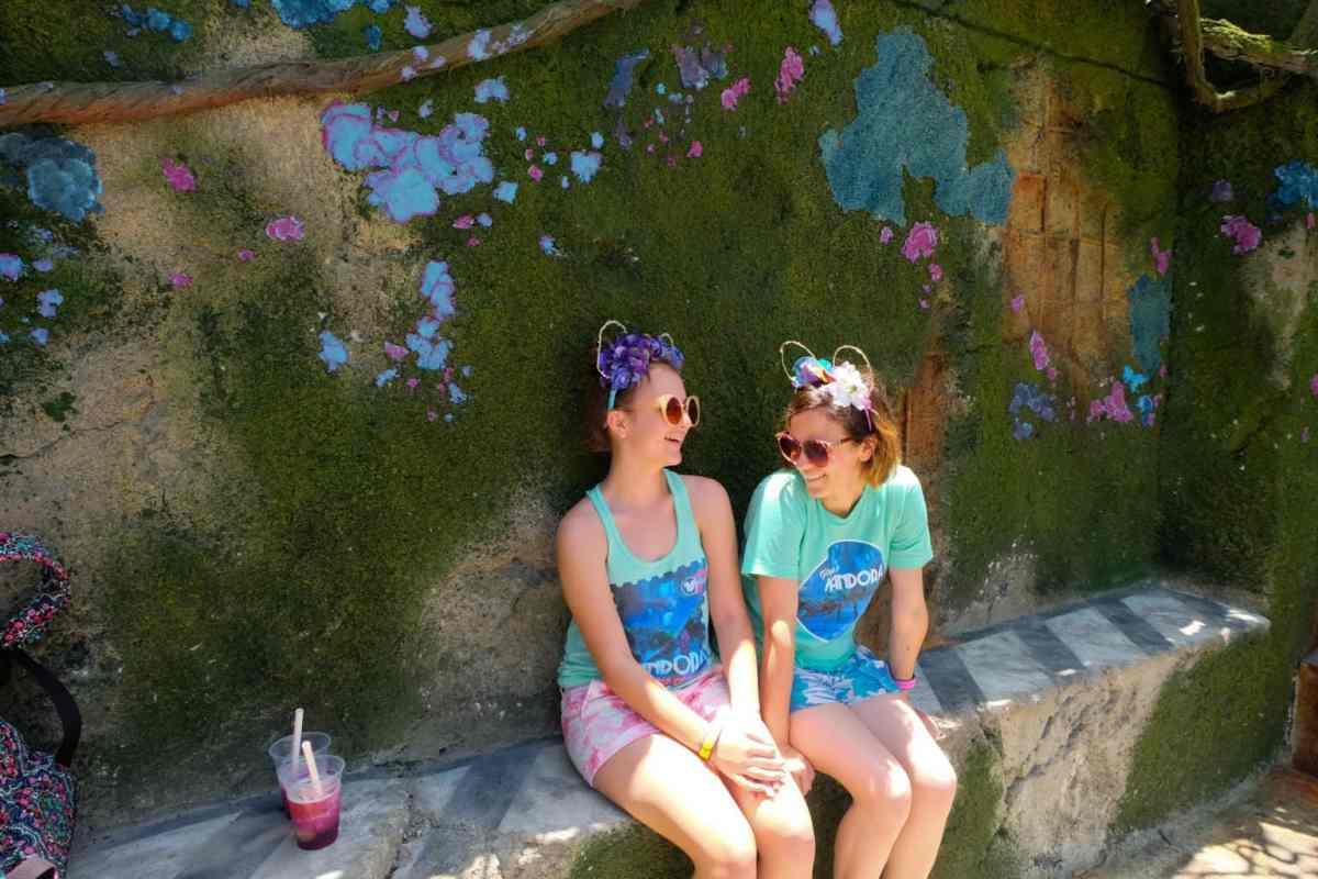 Walt Disney World Moss Wall