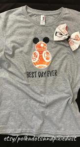 BB8 Best Day Ever At Disney
