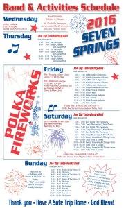 2016 Printable Polka Fireworks Schedule