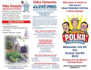 2018 Polka Fireworks Brochure