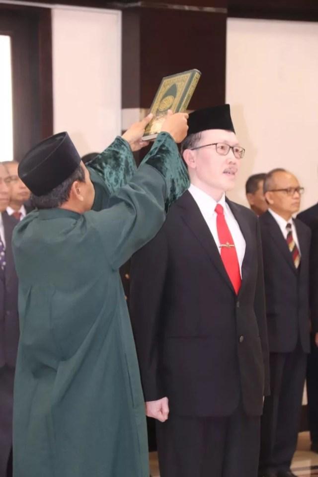 Lantik Laksda Tni Achmad Djamaludin Sebagai Sekjen Wantannas, Menko Polhukam : Bela Negara Tidak Hanya Dari Ancaman Militer