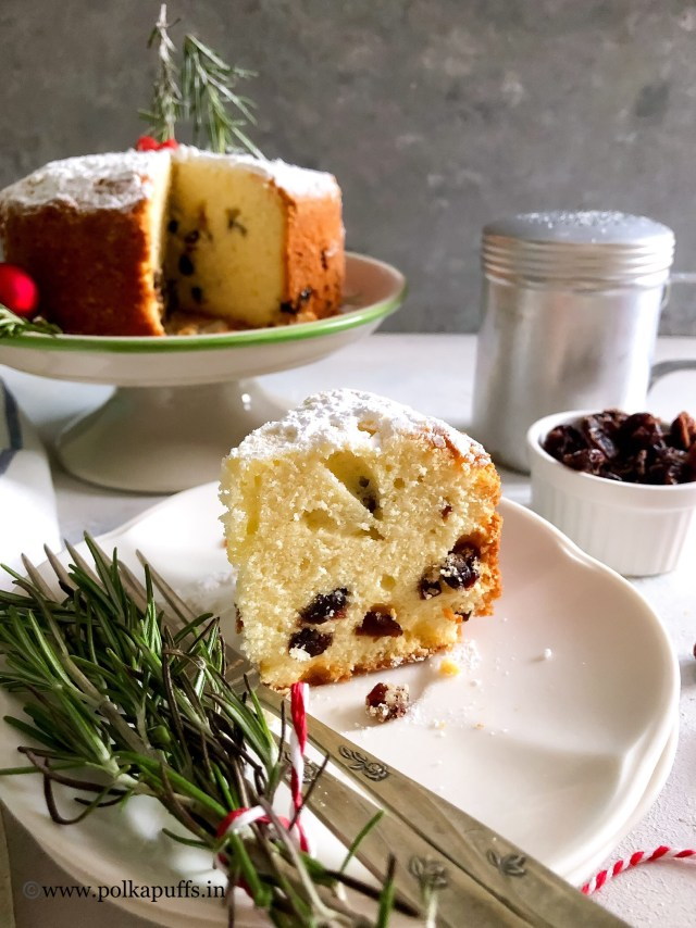 Spiced Orange and Cranberry Cake