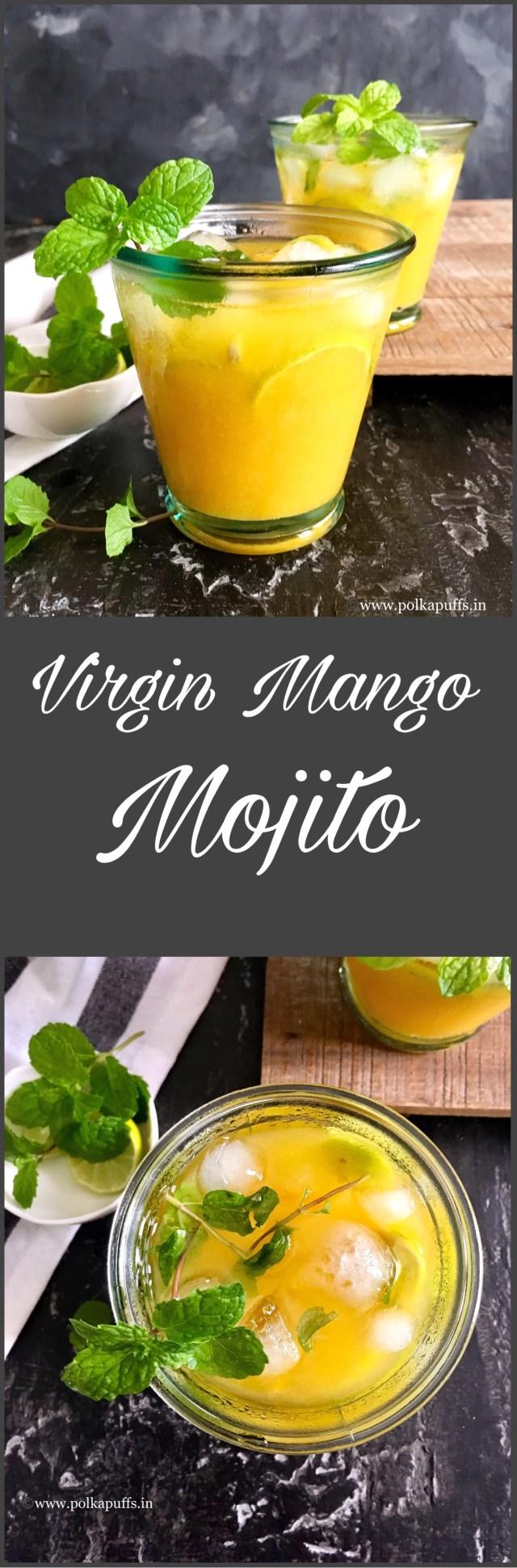 Virgin Mango Mojito   Mango Mojito Recipe