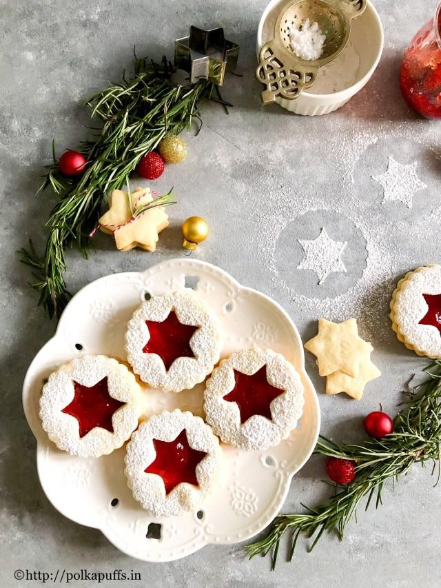The Best Traditional Linzer Cookies   Egg free Linzer Cookies