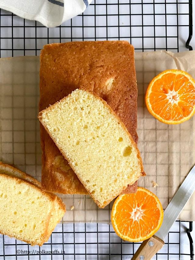 Orange Pound Cake | How to make Orange Cake