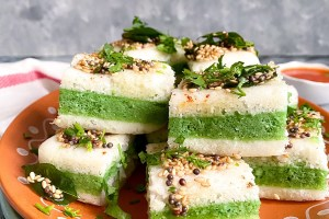 Sandwich Dhokla | How to make Sandwich Dhokla