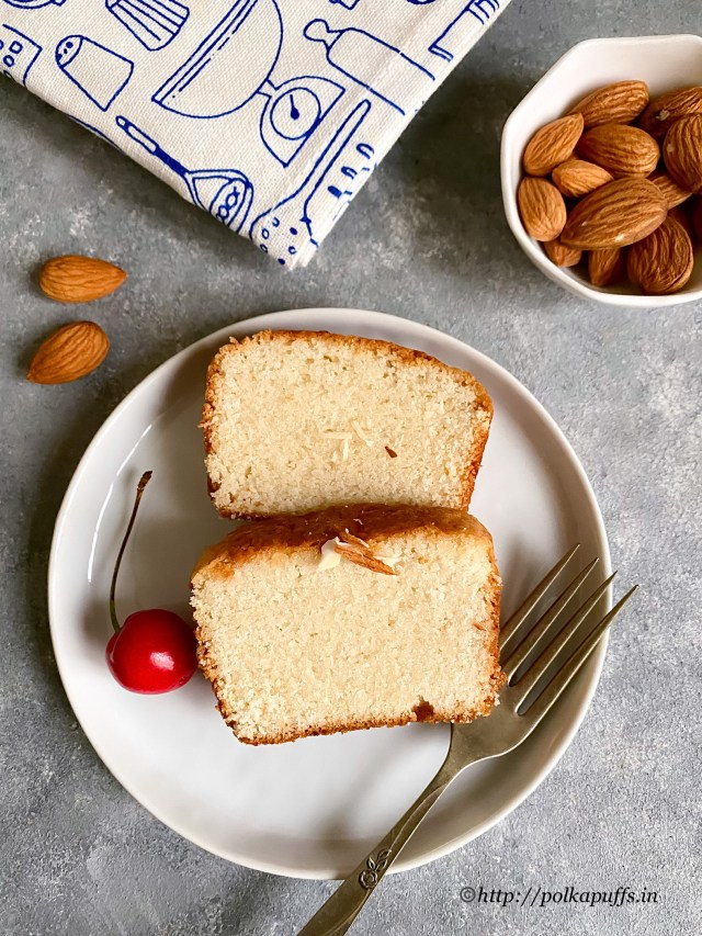 Eggfree Almond Cake   Almond Cake without Eggs