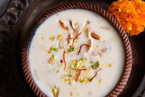 Dry Fruit Basundi | Traditional Basundi