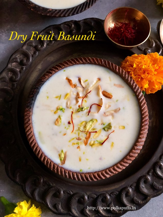 Dry Fruit Basundi | Traditional Basundi dding flavor & texture.