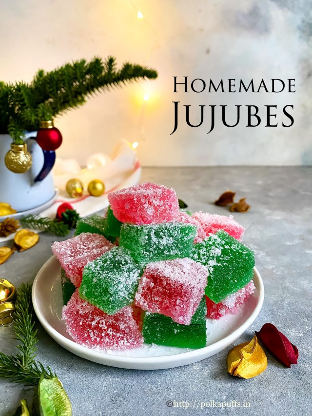 Jujubes | Recipe for Homemade Jujubes