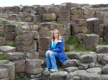 Me at Giant's Causeway