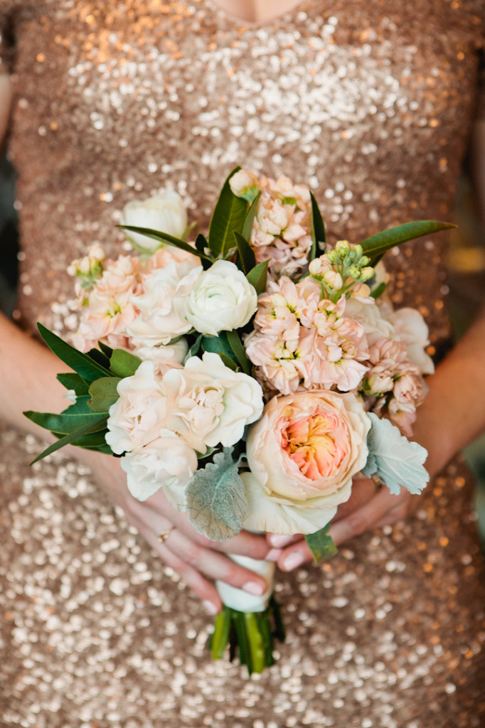 Wedding Profile Salvage One Winter Wedding in Blush and Gold  EcoFriendly Wedding and Event