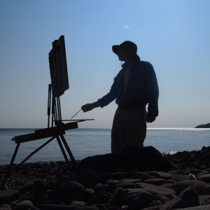 Painting from Direct Observation, Grand Manan, NB, Canada