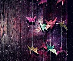 Picture it….Origami