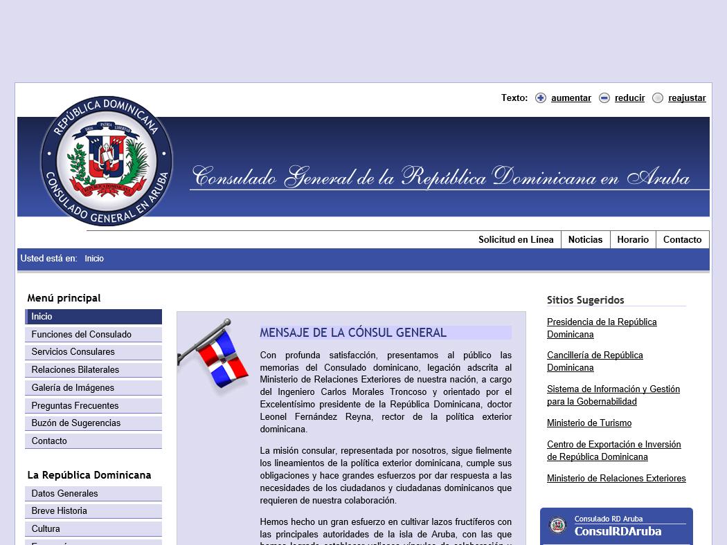 Consulado General de la República Dominicana en Aruba