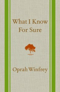 what-i-know-for-sure-oprah-book
