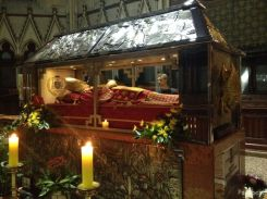 tomb of Aloysius Stepinac @Zagreb Cathedral