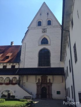 the church from outside