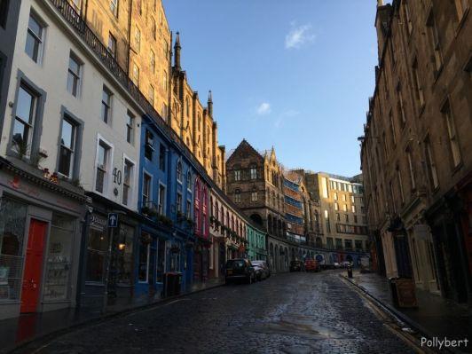 Victoria Street @Edinburgh, Scotland