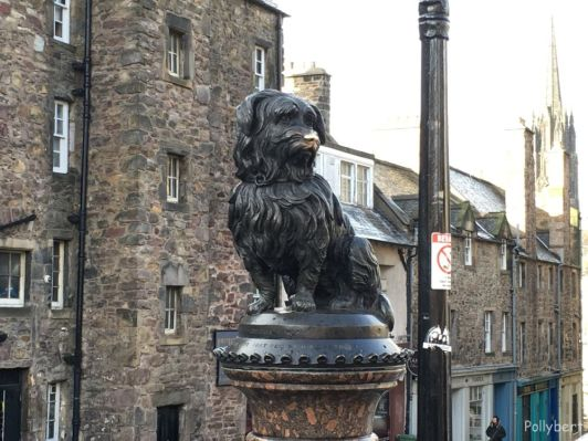 Booby at Greyfriar Kirkyard @Edinburgh, Scotland