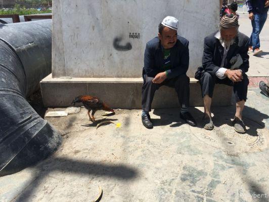 street life @Kashgar