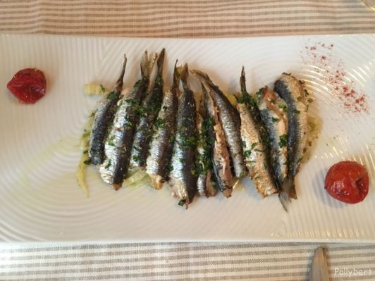 grilled sardines @Corfu