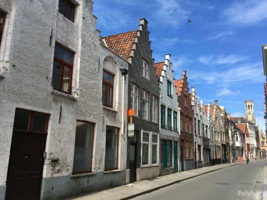 the little streets of Bruges