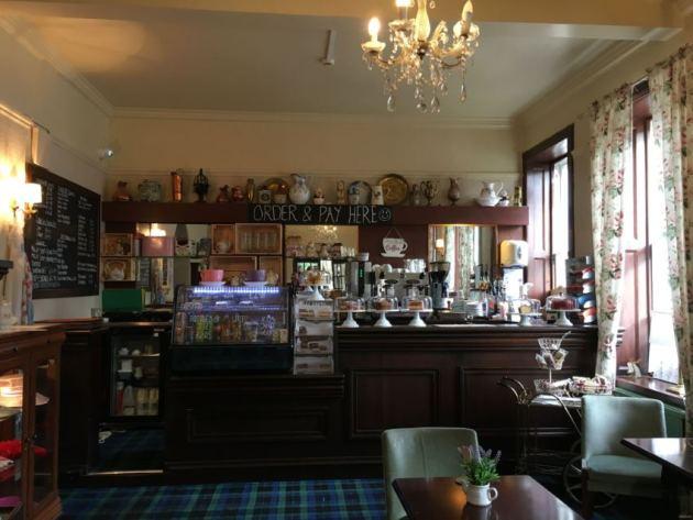 Dolly's tearoom in Roslin