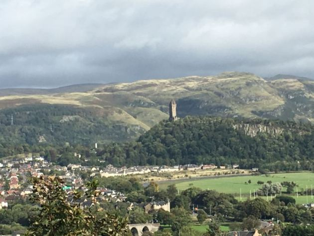 view on Wallace monument @Stirling