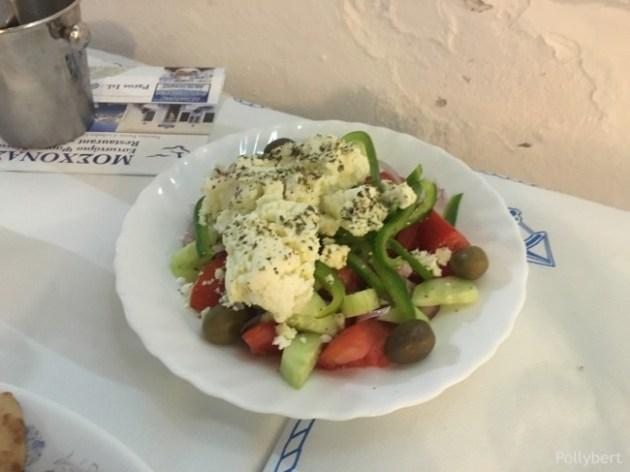 Greek salad @Naoussa