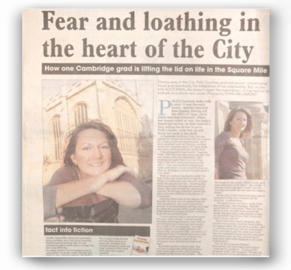 Cambridge Evening News - Fear and loathing in the heart of the City