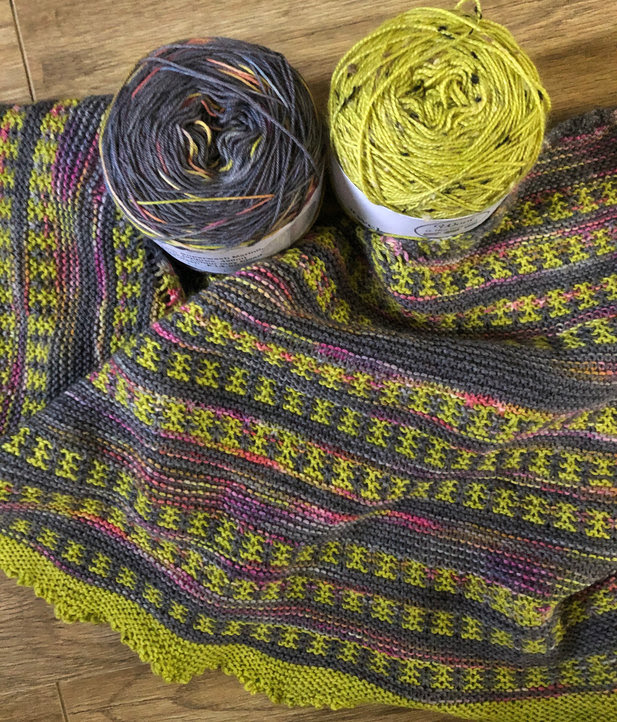 Shawl sets and a sale at Wool is the Answer
