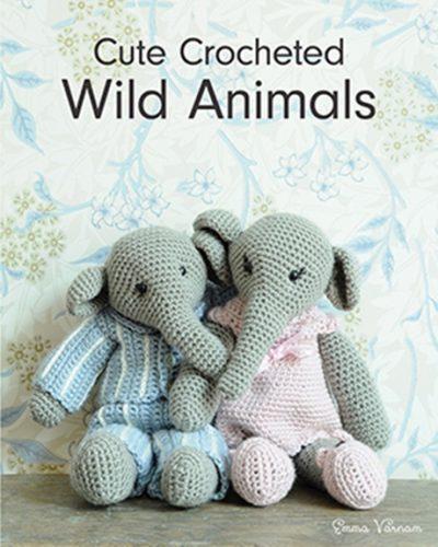 Cute Crocheted Wild Animals by Emma Varnam
