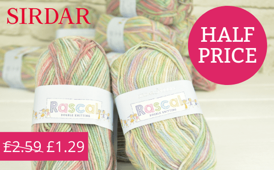 Half price Sirdar Snuggly Rascal DK at The Knitting Network
