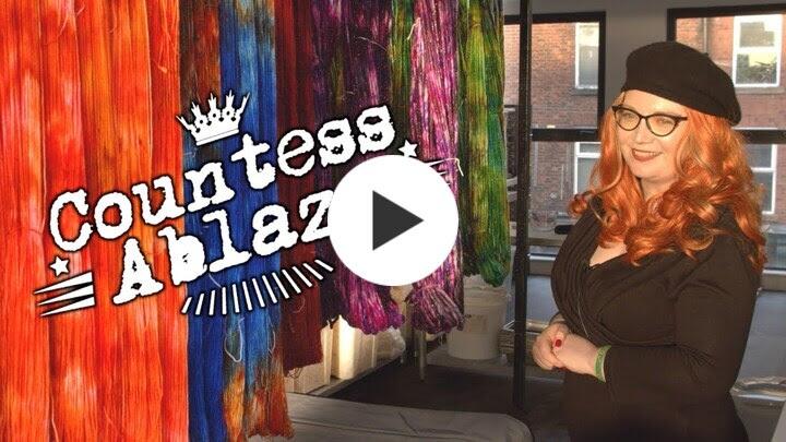 Fruity Knitting interviews Countess Ablaze