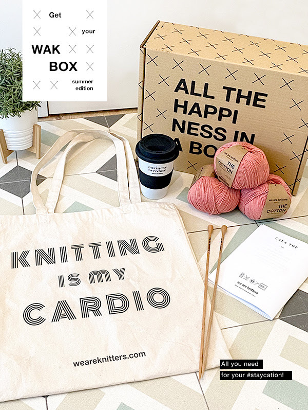 Summer WAK Box from We Are Knitters