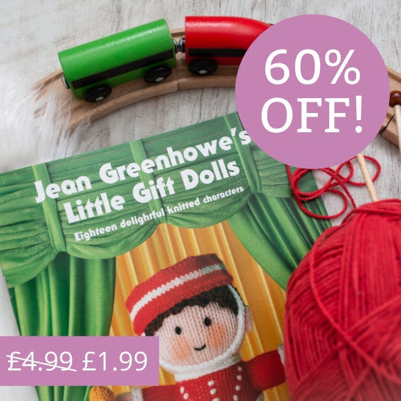 Jean Greehowe toy knitting pattern books £1.99 at The Knitting Network