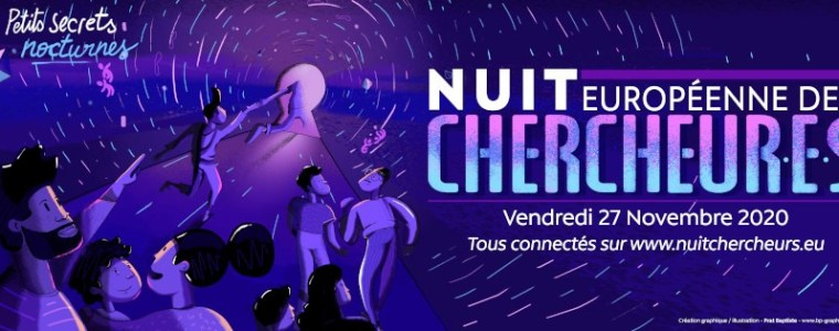 Séance de courts métrages en ligne- Nuit Européenne des Chercheurs