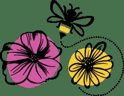Pollynation newlogo flowersandbee