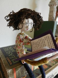 Florence The Bookreader- Sold at Pretty Scruffy
