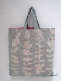 Handmade square Grey tote