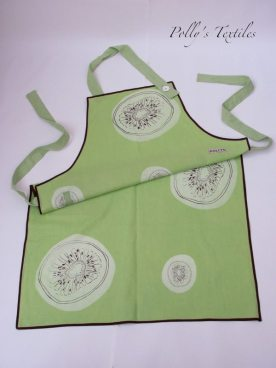 Kiwi Linen apron