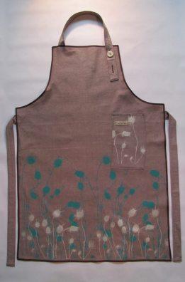 handmade linen apron