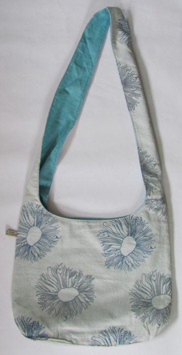 silver grey bag